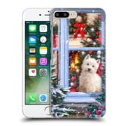 OFFICIAL THE MACNEIL STUDIO CHRISTMAS PETS Dog At Window Hard Back Case for Apple iPhone 7 Plus (9_1FA_1D53F)