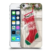 OFFICIAL THE MACNEIL STUDIO CHRISTMAS DECORS Stocking 2 Hard Back Case for Apple iPhone 5 / 5s / SE (9_D_1D537)