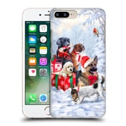 OFFICIAL THE MACNEIL STUDIO CHRISTMAS PETS Dogs Hard Back Case for Apple iPhone 7 Plus (9_1FA_1D547)