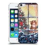 OFFICIAL THE MACNEIL STUDIO CHRISTMAS PETS Kitten And Snow Hard Back Case for Apple iPhone 5 / 5s / SE (9_D_1D541)