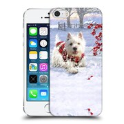 OFFICIAL THE MACNEIL STUDIO CHRISTMAS PETS Westie Fun Hard Back Case for Apple iPhone 5 / 5s / SE (9_D_1D545)
