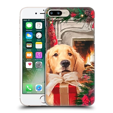 OFFICIAL THE MACNEIL STUDIO CHRISTMAS PETS Red Gift Hard Back Case for Apple iPhone 7 Plus (9_1FA_1D543)