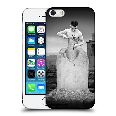 OFFICIAL THOMAS BARBEY ILLUSIONS Self Made Man Hard Back Case for Apple iPhone 5 / 5s / SE (9_D_1A3EF)
