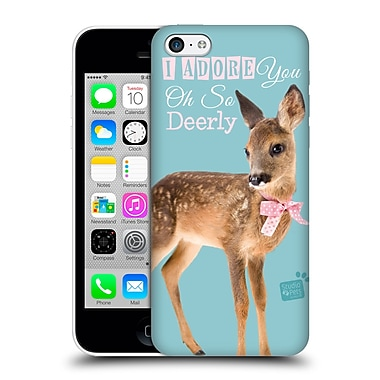 OFFICIAL STUDIO PETS QUOTES Deerly Hard Back Case for Apple iPhone 5c (9_E_1DF71)
