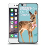 OFFICIAL STUDIO PETS QUOTES Deerly Hard Back Case for Apple iPhone 6 / 6s (9_F_1DF71)