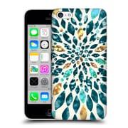 OFFICIAL TANGERINE-TANE TEXTURE & PATTERNS Glitter Dahlia Hard Back Case for Apple iPhone 5c (9_E_1E0A2)