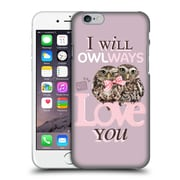 OFFICIAL STUDIO PETS QUOTES Owlways Hard Back Case for Apple iPhone 6 / 6s (9_F_1DF6E)