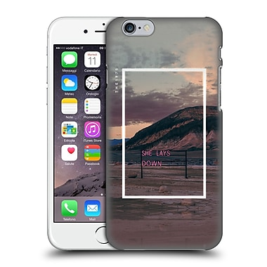OFFICIAL THE 1975 SONGS She Lays Down Hard Back Case for Apple iPhone 6 / 6s (9_F_1E3BA)