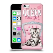 OFFICIAL STUDIO PETS QUOTES Queen Beautiful Hard Back Case for Apple iPhone 5c (9_E_1DF73)