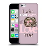 OFFICIAL STUDIO PETS QUOTES Owlways Hard Back Case for Apple iPhone 5c (9_E_1DF6E)