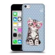OFFICIAL STUDIO PETS PATTERNS Tabby Hard Back Case for Apple iPhone 5c (9_E_1DF65)