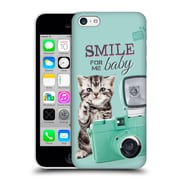 OFFICIAL STUDIO PETS QUOTES Smile Hard Back Case for Apple iPhone 5c (9_E_1DF72)