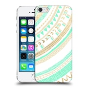 OFFICIAL TANGERINE-TANE TEXTURE & PATTERNS Mint & Gold Tribal Hard Back Case for Apple iPhone 5 / 5s / SE (9_D_1E0A6)