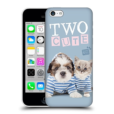 OFFICIAL STUDIO PETS QUOTES Two Cute Hard Back Case for Apple iPhone 5c (9_E_1DF70)