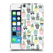 OFFICIAL TANGERINE-TANE TEXTURE & PATTERNS Cute Cacti In Pots Hard Back Case for Apple iPhone 5 / 5s / SE (9_D_1E0A1)