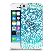 OFFICIAL TANGERINE-TANE TEXTURE & PATTERNS Radiate In Teal & Emerald Hard Back Case for Apple iPhone 5 / 5s / SE (9_D_1E0A8)