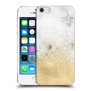 OFFICIAL TANGERINE-TANE TEXTURE & PATTERNS Gold Dust On Marble Hard Back Case for Apple iPhone 5 / 5s / SE (9_D_1E0A4)