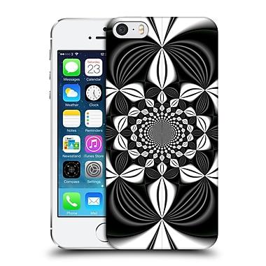 OFFICIAL SVEN FAUTH KALEIDOSCOPE Dark Sunflower Hard Back Case for Apple iPhone 5 / 5s / SE (9_D_1DBD7)