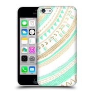 OFFICIAL TANGERINE-TANE TEXTURE & PATTERNS Mint & Gold Tribal Hard Back Case for Apple iPhone 5c (9_E_1E0A6)