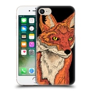 "OFFICIAL STEVE ""SWADE"" WADE ANIMAL ILLUSTRATIONS Mr. Fox Hard Back Case for Apple iPhone 7 (9_1F9_1B248)"