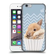 OFFICIAL STUDIO PETS PATTERNS Bunny Hard Back Case for Apple iPhone 6 / 6s (9_F_1DF6B)