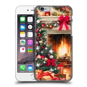 OFFICIAL THE MACNEIL STUDIO CHRISTMAS TREE Fireplace Hard Back Case for Apple iPhone 6 / 6s (9_F_1D548)