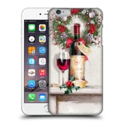 OFFICIAL THE MACNEIL STUDIO CHRISTMAS DECORS Red Wine Hard Back Case for Apple iPhone 6 Plus / 6s Plus (9_10_1D536)
