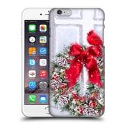 OFFICIAL THE MACNEIL STUDIO CHRISTMAS DECORS Cardinal On Wreath Hard Back Case for Apple iPhone 6 Plus / 6s Plus (9_10_1D530)