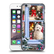 OFFICIAL THE MACNEIL STUDIO CHRISTMAS PETS Dog At Window Hard Back Case for Apple iPhone 6 / 6s (9_F_1D53F)