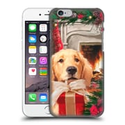 OFFICIAL THE MACNEIL STUDIO CHRISTMAS PETS Red Gift Hard Back Case for Apple iPhone 6 / 6s (9_F_1D543)