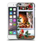 OFFICIAL THE MACNEIL STUDIO CHRISTMAS PETS Tabby Cat Hard Back Case for Apple iPhone 6 / 6s (9_F_1D544)