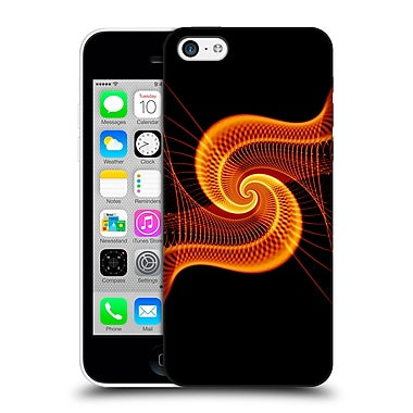 OFFICIAL SVEN FAUTH HELIX Fire Snail Hard Back Case for Apple iPhone 5c (9_E_1C914)