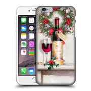 OFFICIAL THE MACNEIL STUDIO CHRISTMAS DECORS Red Wine Hard Back Case for Apple iPhone 6 / 6s (9_F_1D536)