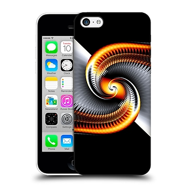 OFFICIAL SVEN FAUTH HELIX Silver Snail Hard Back Case for Apple iPhone 5c (9_E_1C912)
