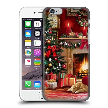 OFFICIAL THE MACNEIL STUDIO CHRISTMAS TREE Room Hard Back Case for Apple iPhone 6 / 6s (9_F_1D549)