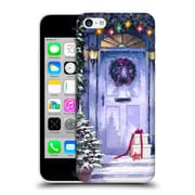 OFFICIAL THE MACNEIL STUDIO WINTER WONDERLAND White Door Hard Back Case for Apple iPhone 5c (9_E_1D56A)