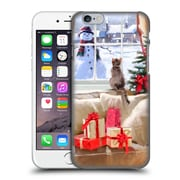 OFFICIAL THE MACNEIL STUDIO CHRISTMAS PETS Cat At Window Hard Back Case for Apple iPhone 6 / 6s (9_F_1D53D)