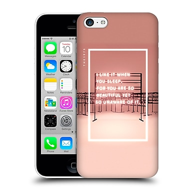 OFFICIAL THE 1975 SONGS I Like It When You Sleep Hard Back Case for Apple iPhone 5c (9_E_1E3B4)