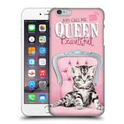OFFICIAL STUDIO PETS QUOTES Queen Beautiful Hard Back Case for Apple iPhone 6 Plus / 6s Plus (9_10_1DF73)