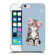 OFFICIAL STUDIO PETS PATTERNS Tabby Hard Back Case for Apple iPhone 5 / 5s / SE (9_D_1DF65)