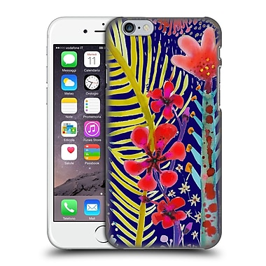 OFFICIAL SYLVIE DEMERS FLOWERS In The Mighty Jungle Hard Back Case for Apple iPhone 6 / 6s (9_F_1BAD3)