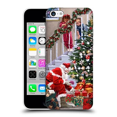 OFFICIAL THE MACNEIL STUDIO SANTA CLAUS Watching Hard Back Case for Apple iPhone 5c (9_E_1D55C)