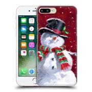 OFFICIAL THE MACNEIL STUDIO WINTER WONDERLAND Snowman's Face Hard Back Case for Apple iPhone 7 Plus (9_1FA_1D567)