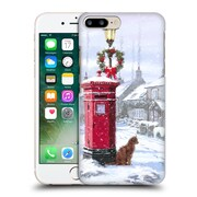 OFFICIAL THE MACNEIL STUDIO WINTER WONDERLAND Cat And Postbox Hard Back Case for Apple iPhone 7 Plus (9_1FA_1D55E)