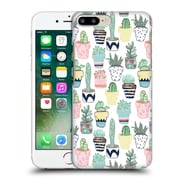 OFFICIAL TANGERINE-TANE TEXTURE & PATTERNS Cute Cacti In Pots Hard Back Case for Apple iPhone 7 Plus (9_1FA_1E0A1)