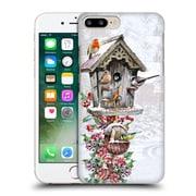 OFFICIAL THE MACNEIL STUDIO WINTER WONDERLAND Bird House 3 Hard Back Case for Apple iPhone 7 Plus (9_1FA_1D55D)