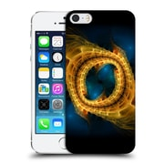 OFFICIAL SVEN FAUTH FRACTALS 2 Gold Blue Hard Back Case for Apple iPhone 5 / 5s / SE (9_D_1D9F6)
