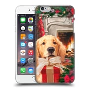 OFFICIAL THE MACNEIL STUDIO CHRISTMAS PETS Red Gift Hard Back Case for Apple iPhone 6 Plus / 6s Plus (9_10_1D543)