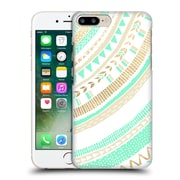 OFFICIAL TANGERINE-TANE TEXTURE & PATTERNS Mint & Gold Tribal Hard Back Case for Apple iPhone 7 Plus (9_1FA_1E0A6)