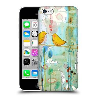 OFFICIAL SYLVIE DEMERS BIRDS Dans Chaque Coeur Hard Back Case for Apple iPhone 5c (9_E_1BAB5)